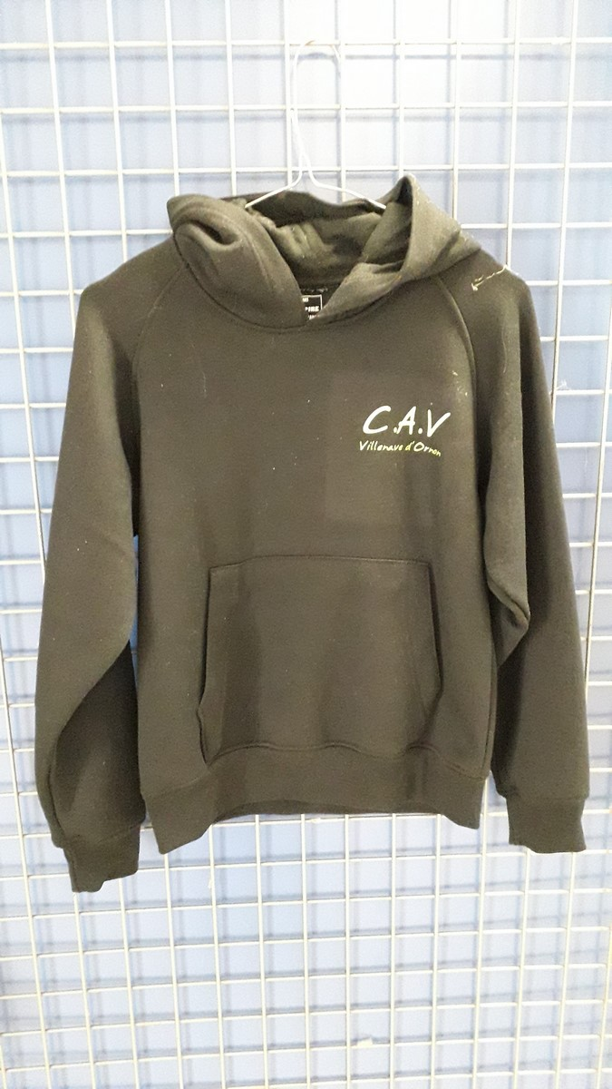Sweat capuche sans fermeture recto
